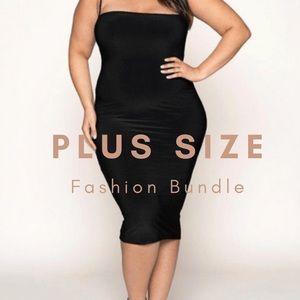 PLUS SIZE Women's Fashion Bundle Sizes L-5XL